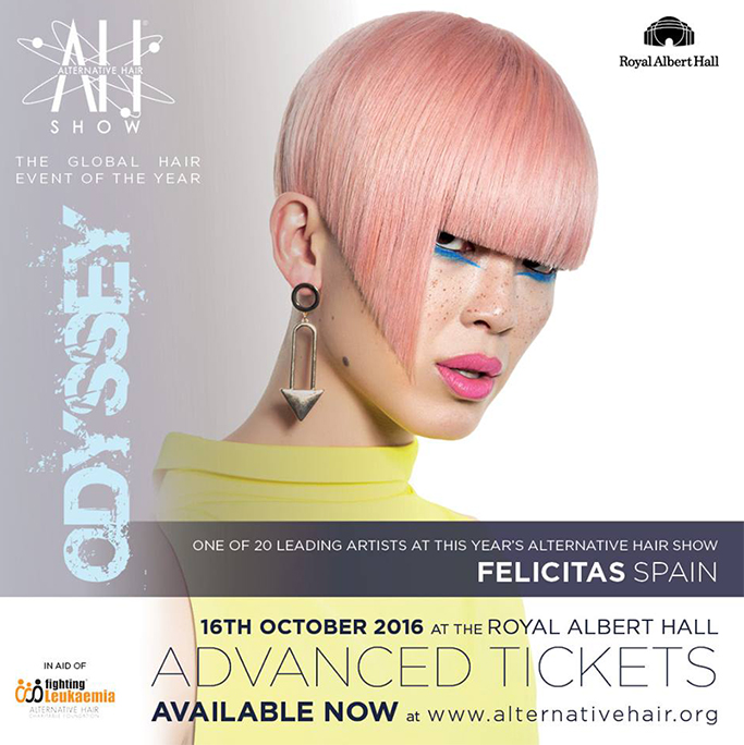 Felicitas en Alternative Hair Show