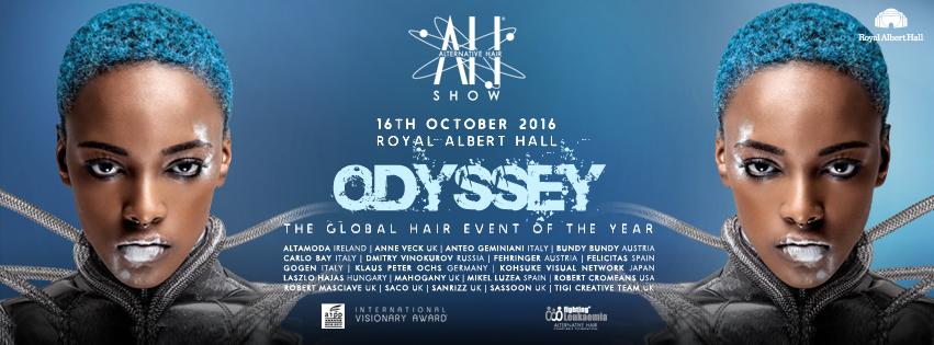 Felicitas en Alternative Hair Show 2016