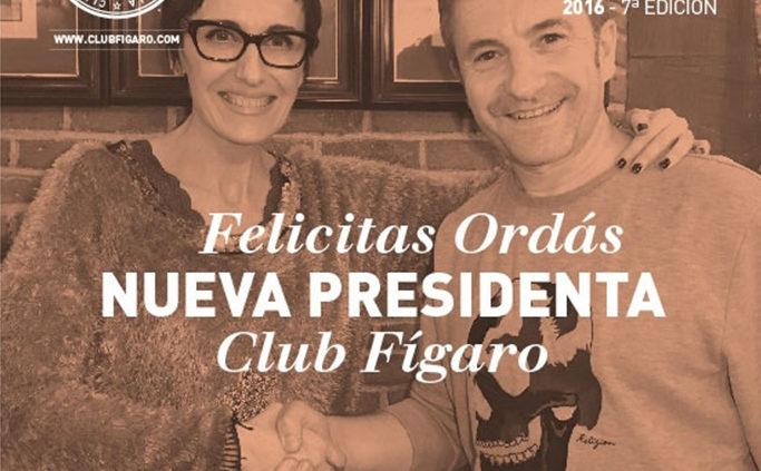 Felicitas presidenta Club Fígaro